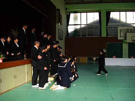 油田中学校