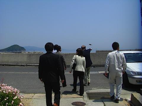 沖家室島の泊清寺を下った所.JPG