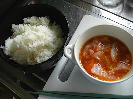 卵かけご飯で朝ご飯 愛媛宇和島の鯛めしCIMG6286.JPG