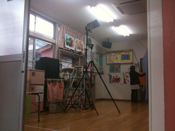 久賀保育園の先生方急ピッチで準備追い込み中です。