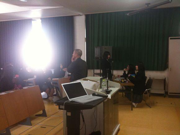 岩国総合高等学校で講演させて頂きました。