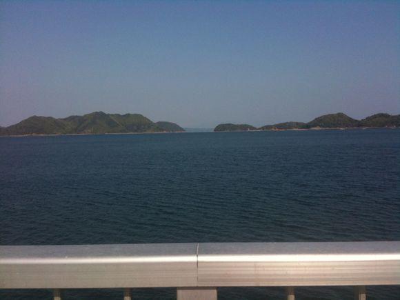 情島と四国を眺める景色が気持ち良い