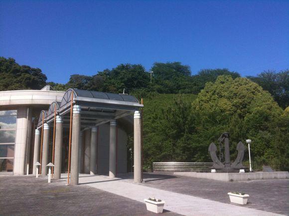 陸奥記念館青空です!