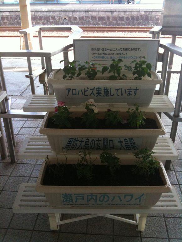 瀬戸内のハワイの玄関口こと大畠駅