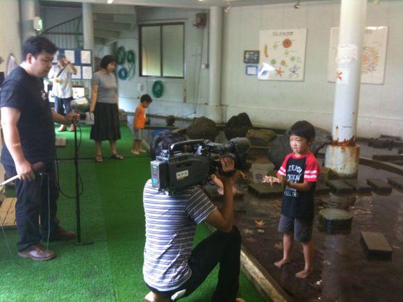 NHK山口の情報維新やまぐちの中継収録です!