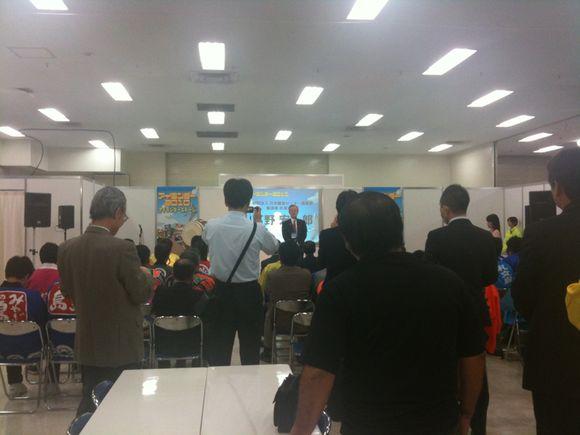 アイランダー2010開催です!佐渡島市長さんのご挨拶です。