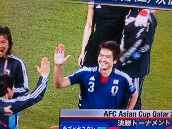 日韓戦に勝利!周防大島出身の岩政大樹選手、体張って強さを見せつけました!