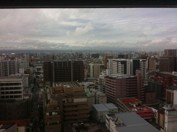 おはようございます!大阪晴れて来ました!!