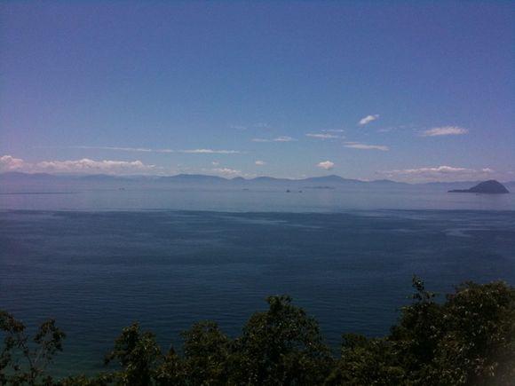 周防大島から四国愛媛県を眺望