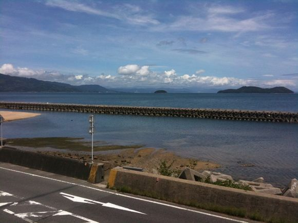 周防大島はもう梅雨明けした様な夏晴れです!