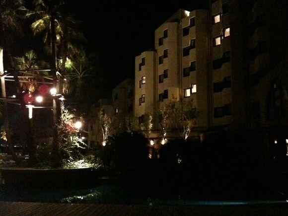 海の中道、ザ・ルイガンズホテルに泊まります。