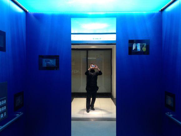 池袋サンシャインシティ水族館のエレベーターすごい!