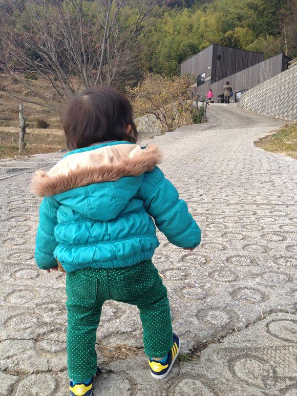 神代の kouno toukiten への坂道