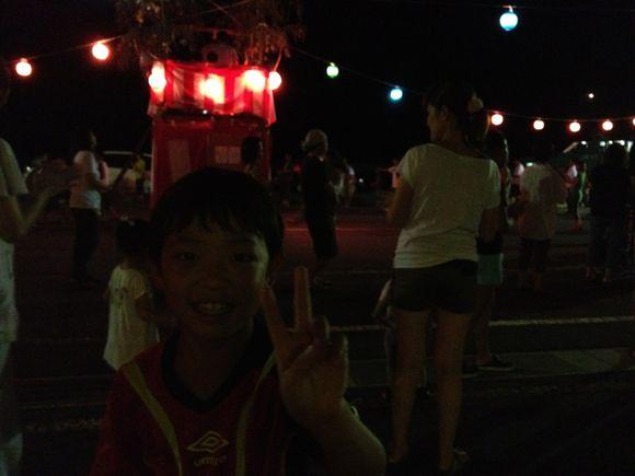 伊保田の盆踊りです!