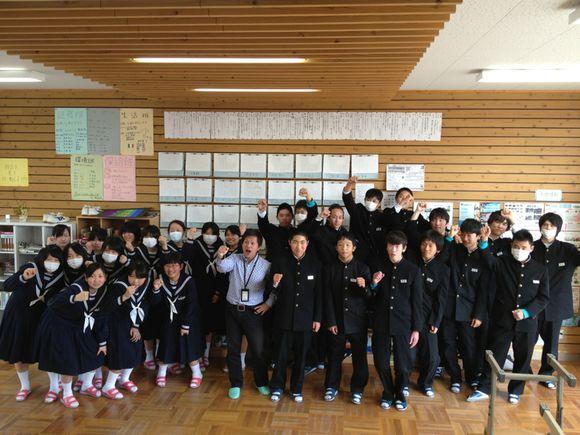 東和中学校コミュニティ・スクールのキャリア教育三年生「夢のかけ橋」修了!