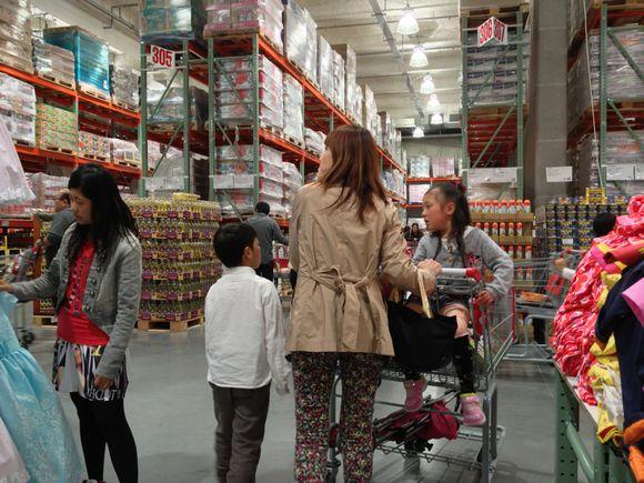 コストコ広島でプチ家族旅行