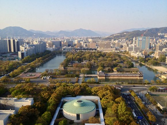広島へファミリー旅行