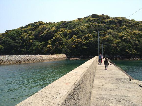 能美島、倉橋島を眺めながらピクニック