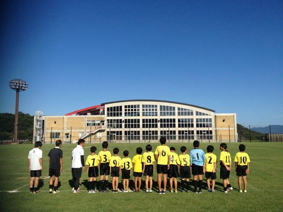 久賀FC、選手権周東地区予選どうにか3位