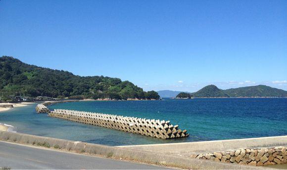 ふるさと周防大島の秋風と秋色な海