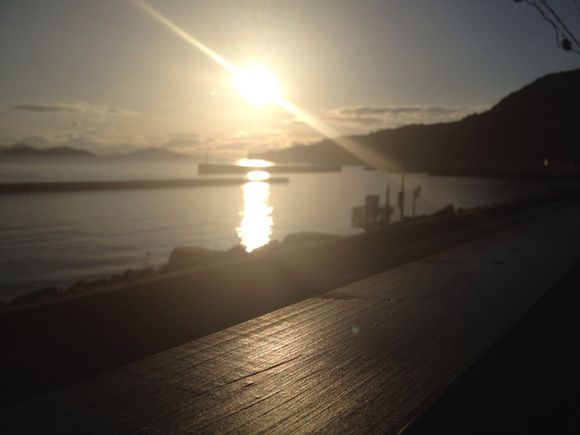 おはよう!瀬戸内海。朝SUPのシーズン。