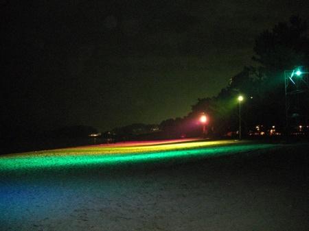光市虹ヶ浜海水浴場の観光インターネットCMの撮影