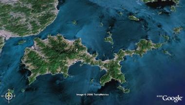 Suo-Oshima Gppgle-Earth