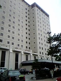 今日は西鉄グランドホテルです